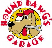 Hound Dog Cartoon Logo