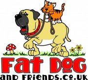 Dog & Cat Cartoon Logo