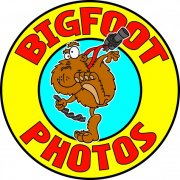 Cartoon Big Foot Logo